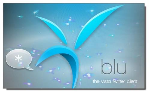 Blu Twitter Logo