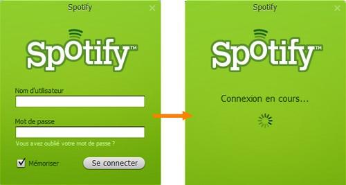 spotify connexion