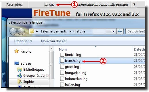 Firetune French