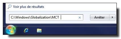 Windows7 Menu Demarrer