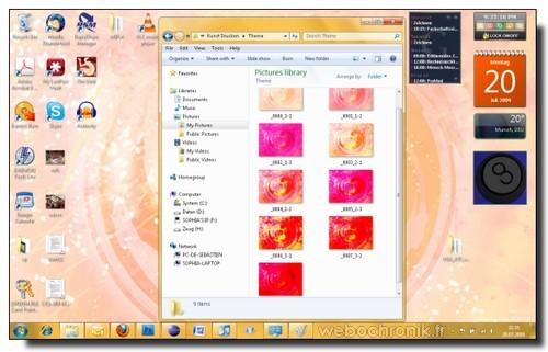 6 Magnifiques Themes pour Windows 7-Heart-Soffl