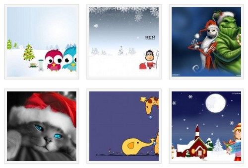 Theme pack windows 7 - Theme Noel 3