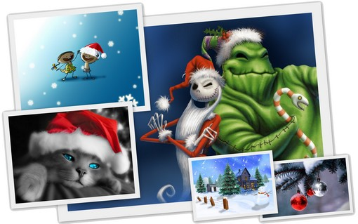 Themes Noel Windows 7