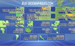 Jeux Flash Geographique pour apprendre la géographie