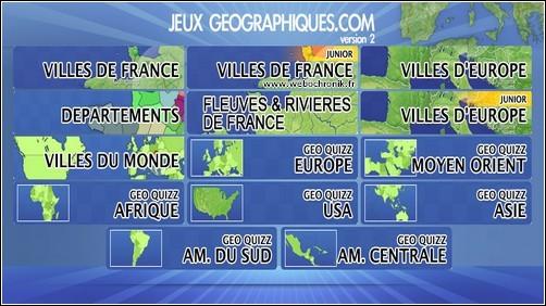 Jeux Flash pour apprendre la géographie