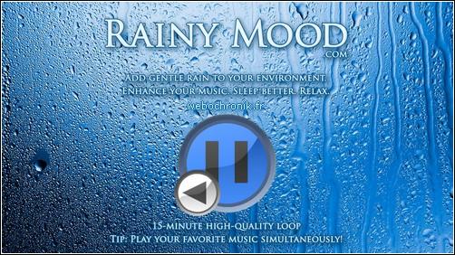 Rainymood-Site relaxation-30 Minutes de pluie orageuse