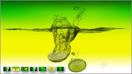 Theme et fonds d'écran 7UP pour Windows 7