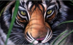body painting pictures - body painting video - body-painting - craig tracy