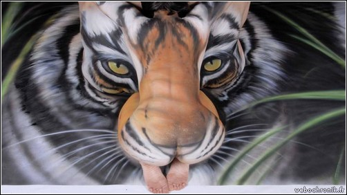 body painting pictures - body painting video - body-painting