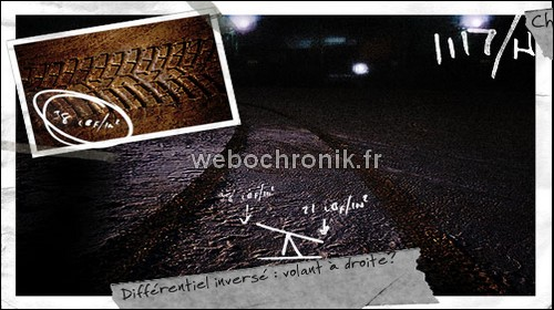 Heavy Rain Playstation 3 Preuve 4 traces pneus