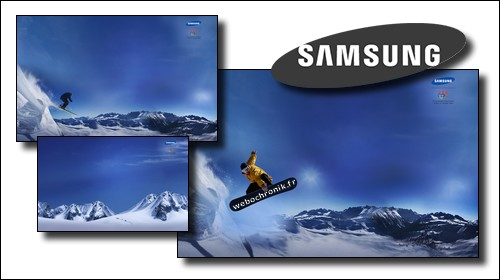 Theme Windows 7-Samsung Winter Sports