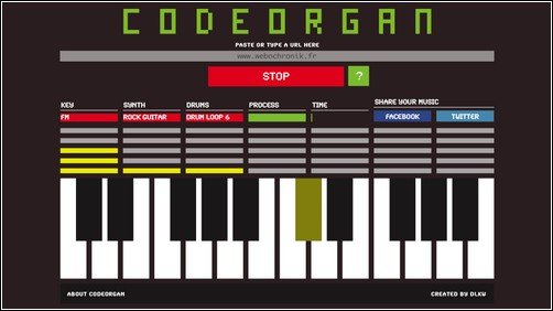 codeorgan - transformez un site internet en musique