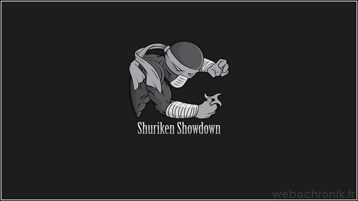 Jeu flash - shuriken showdown - incarnez un ninja - webochronik
