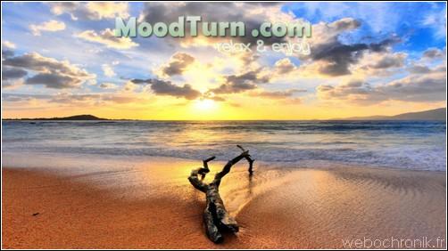 MoodTurn relaxez vous avec votre navigateur - site internet d'ambiance sonore