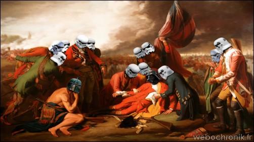 James Hance – peinture Star Wars-deathofgeneralvader