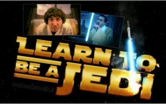 Learn to be a jedi-Luciano-parodie star wars