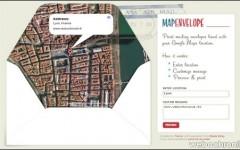 Map Envelope-Personnalisez vos enveloppes avec Google Maps