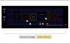 Jouer à Pacman sur la page d'accueil de Google
