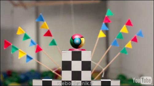 Chromefastball-Jeu-Youtube-Une course a travers l'internet-Google Chrome