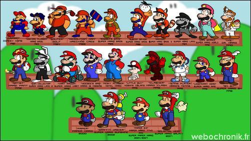Chronologie et histoire de Mario-Nintendo-Fan_Art