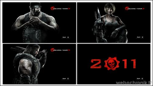 theme windows 7 - themepack Microsoft - Gear of War 3