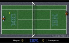 Jeu Flash gratuit Pong IBM