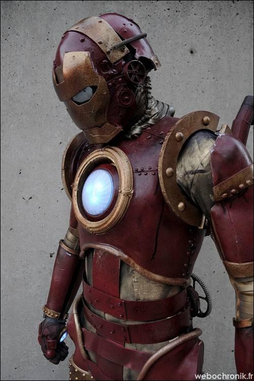 Projet de création collective : L'Univers CustomLand Iron-Man-SteamPunk-1-Marvel