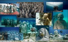 Musee Subaquatique Cancun - Underwater Sculpture