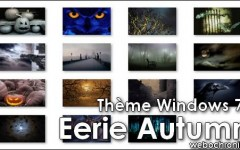 Theme Windows7 - Eerie_Autumn- themepack - Fond d'ecran - microsoft - Halloween