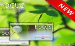 Focus Screensaver-Ecran_de_veille-Windows-Effet de Flou