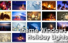 Theme Windows7-Holiday Lights-Themepack-special Noel