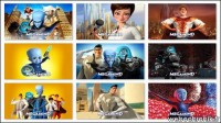 Theme Windows7-MEGAMIND-Dreamworks-themepack - Fond d'ecran - microsoft